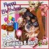 Corienza fête ses 8 ans