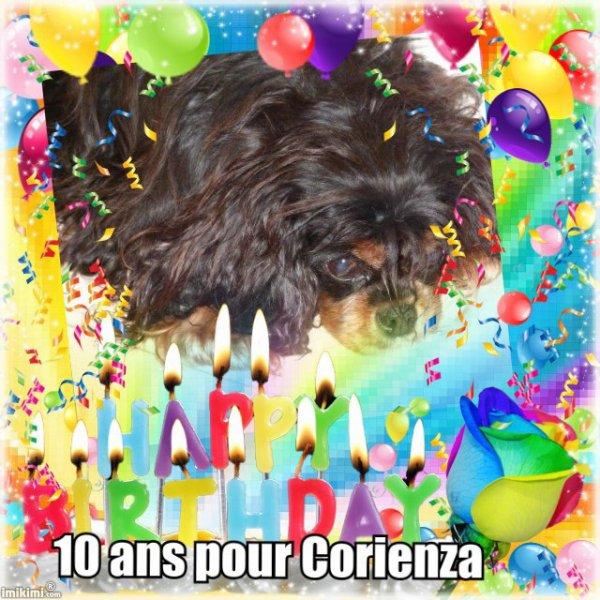 Bon anniversaire Corie