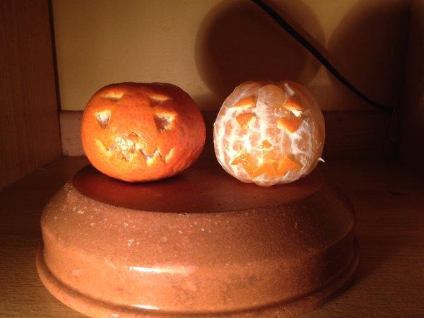 Happy Halloween ! (4) -Oui on se fait chier en fin de repas-