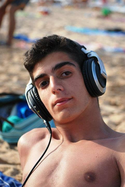 moi a la plage au portugal algarve
