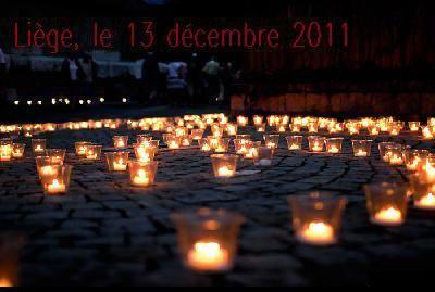 Liège 13 decembre 2011. Soutenont les !! Une petite pensee !!