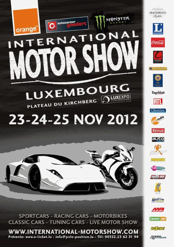 Intrernational Motor Show 23-24-25 novembre 2012