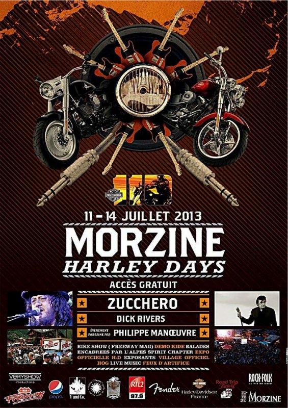 """ Harley Day "" Morzine"