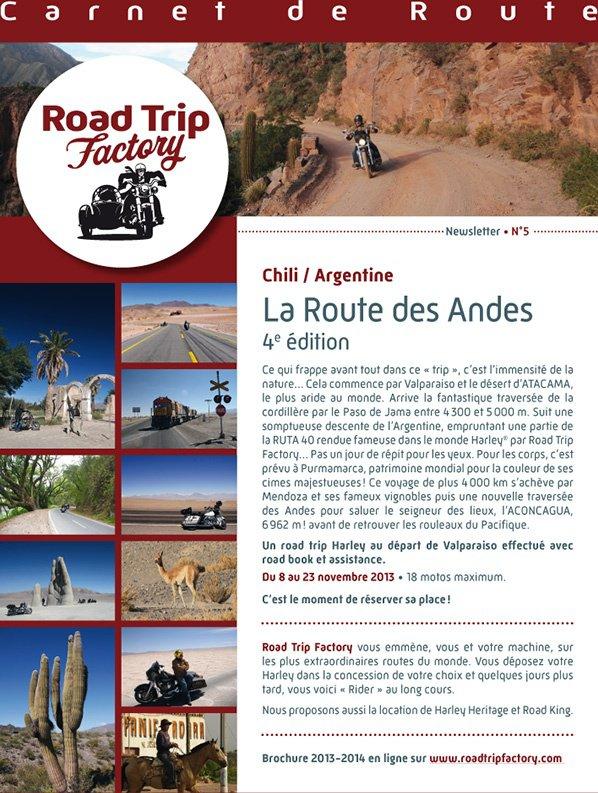 """Road Trip """" La Route des Andes"""" du 8 au 23 novembre"""