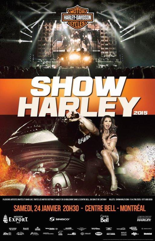 Harley Davidson show 24/01/2015