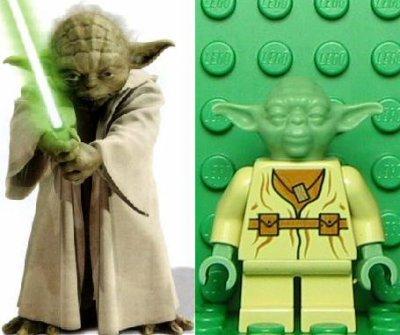 le petit homme vert de dagobah qui nest pas fichu de parler correctement a connu deux versions lego celle ci et celle de clone wars