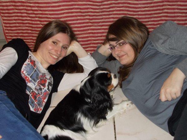 Ma meilleure amie, paqui et moi
