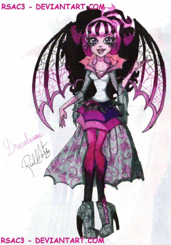 Draculaura change de tenue monster high photo - Tenue monster high ...