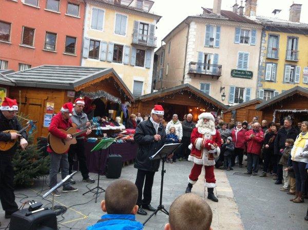 Marché de Noël 2015 à Gap