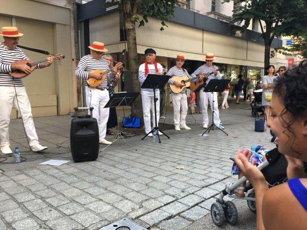 Marché à Gap le 19 0Août 2017