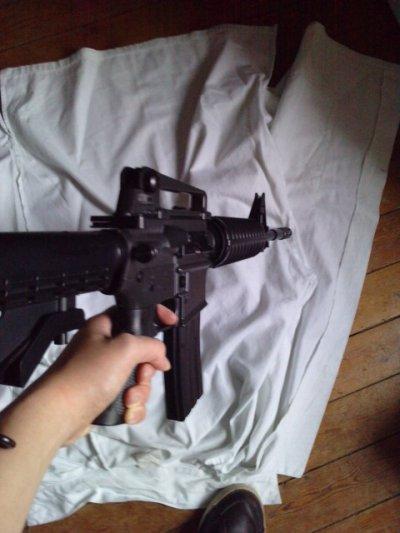 vend M4 A1 AEG 1 joule