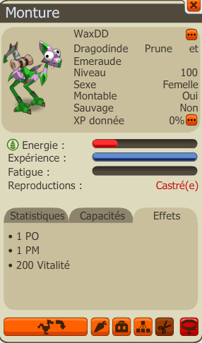 Tengu Givrefoux, et achat des Dragodindes Emeraude !