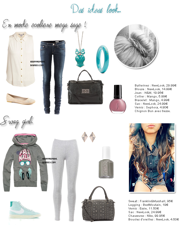"""▲ Outfit """"Back to school"""""""