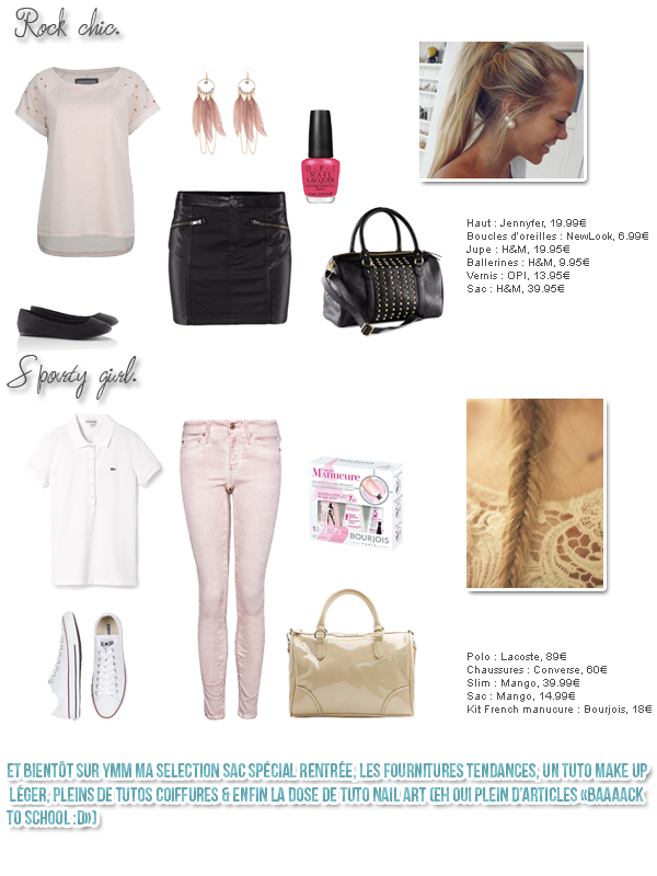 "▲ Outfit ""Back to school"""