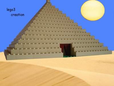 Blog de lego3 creations lego - Dessin de pyramide ...