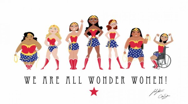 We are all Wonder Women!!