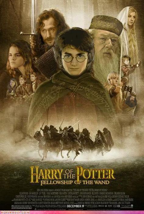 Hors série #3 Le seigneur des anneaux version Harry Potter