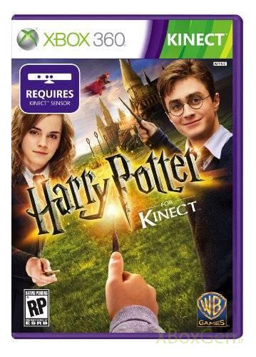 Harry Potter pour Kinect #4 la jaquette officielle !