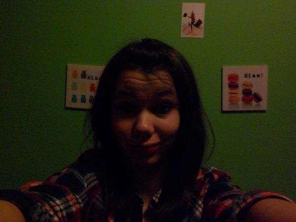 Oui je suis pas super belle et alors?