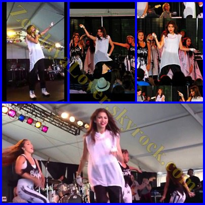Zendaya au Marin Country Fair à San Francisco le 5 juillet 2013.