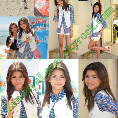 Zendaya au ''7 Eleven's 86th Birthday Party'' à Malibu