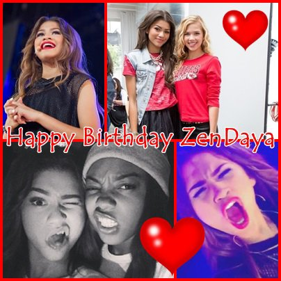 Happy Birthday Zendaya !!!