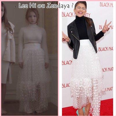 Lee Hi ou Zendaya ?