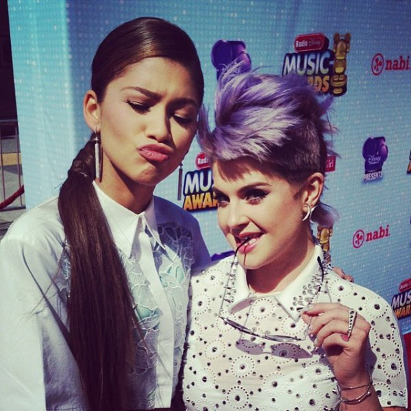 "Zendaya aux RDMA !! Elle a gagné le prix de ""You've Got The Swag"" !"
