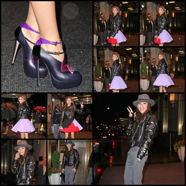 Zendaya à New York City le 30 avril ! + Nouveau photoshoot !