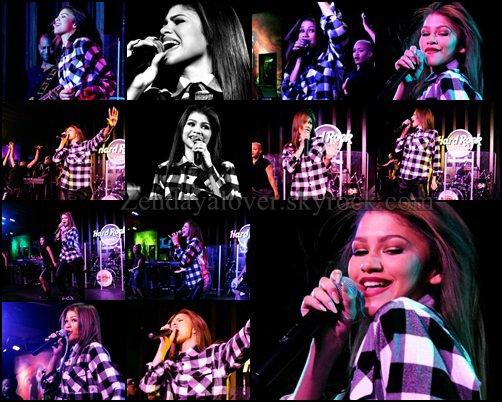 Photos de Zapped, 1er concert de la tournée américaine de Zendaya, 6M de likes sur sa page FB.