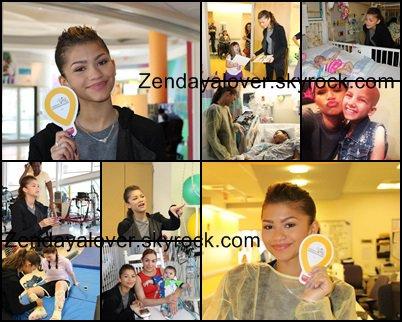 Infos sur les concerts de Zendaya, visite d'un hôpital pour enfants, et iPlayAmerica !!