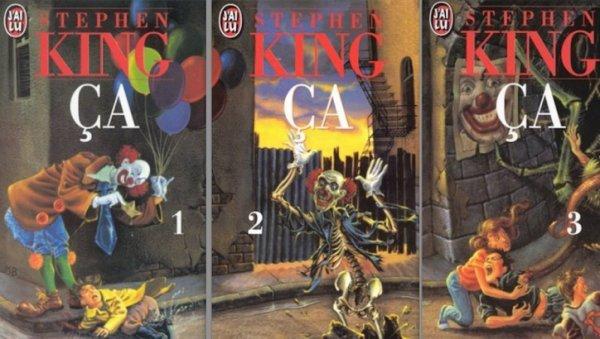 ça de stephen king, les livres
