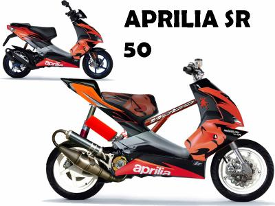 aprilia sr 50 factory virtual tuning. Black Bedroom Furniture Sets. Home Design Ideas