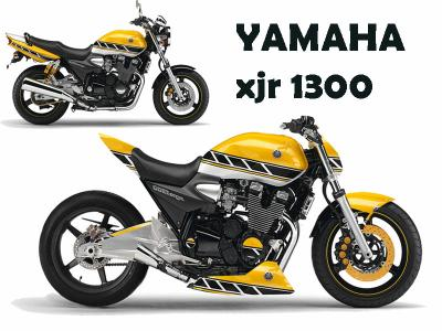 yamaha xjr 1300 virtual tuning. Black Bedroom Furniture Sets. Home Design Ideas
