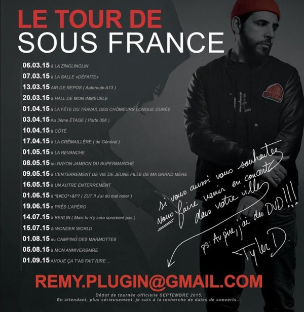 SOUS FRANCE TOUR (lol) BRAV