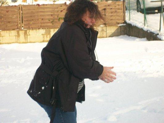 bien amuser dimanche sous la neige
