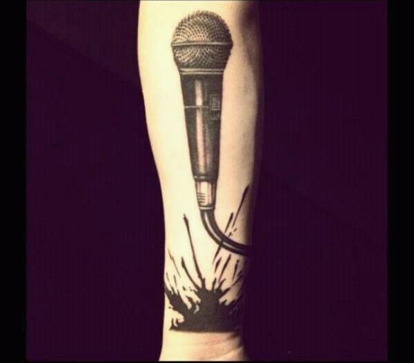 This is New tattoo of Zaynn