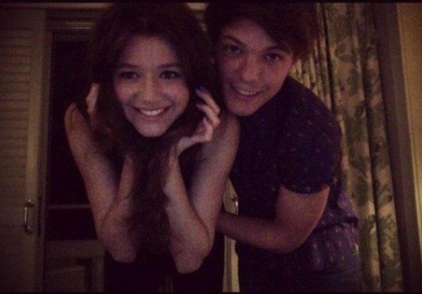 Nouvelle photo de Louis et Eleanor <3