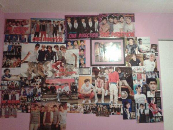 Le mur de ma chambre