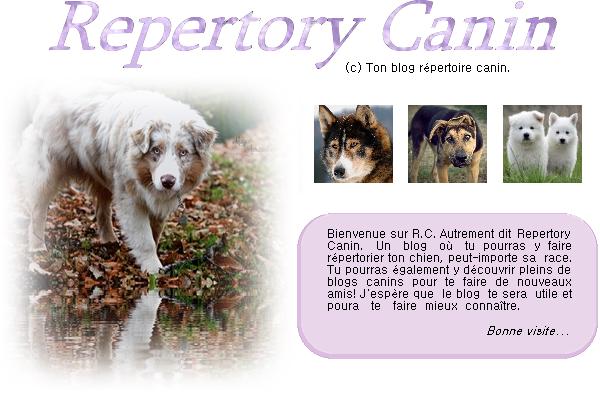 Repertory Canin