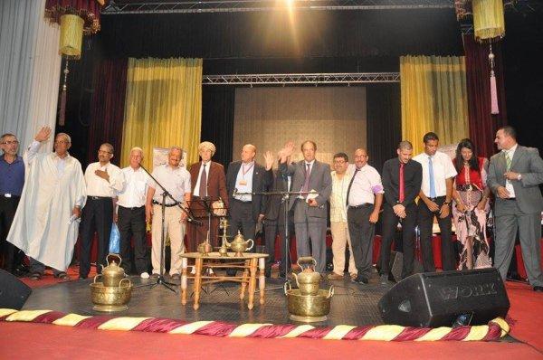 Photos finish de la 3 eme edition du festival de la poesie melhoun Mostaganem 2015