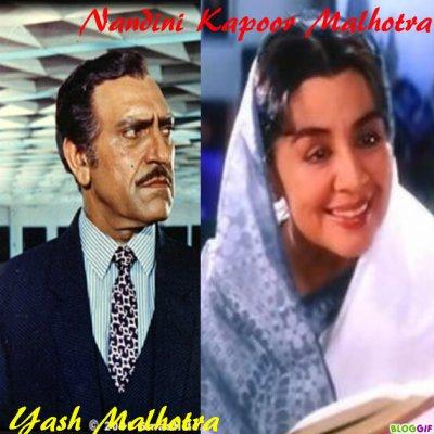 Personnage: Famille Kapoor!!Et Malhotra!!!!