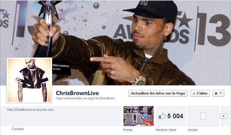 Plus de 5 000 personnes sur la page facebook