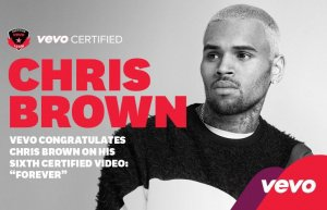 """""""Forever"""" certifié VEVO après avoir atteint les 100 millions de vues"""