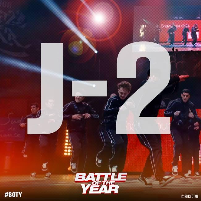 #BOTY dernière ligne droite : J-2 !