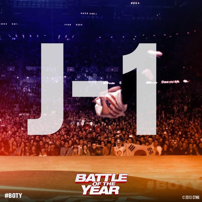 #BOTY : J-1