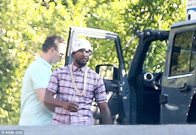 Usher et Tyga ont rendu visite à Chris Mardi