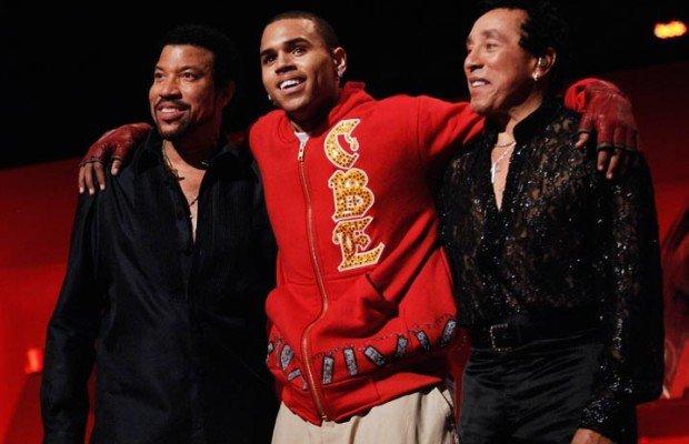 """Lionel Richie sur Chris Brown : """"Son talent est indéniable"""""""