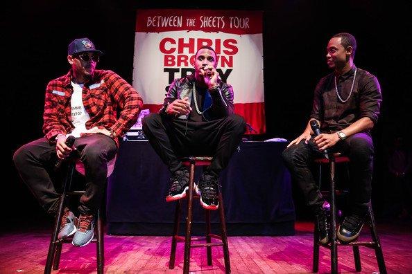 """Chris Brown et Trey Songz annonce la tournée """"Between the sheets"""""""