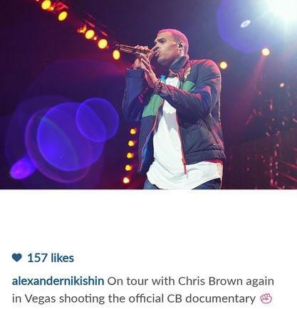 Documentaire sur Chris Brown en cours de tournage